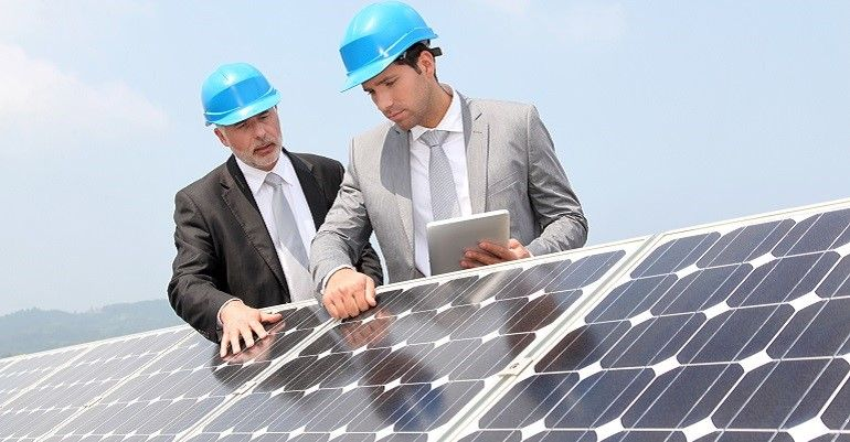 High Efficiency Commercial Solar Panel Inspection & Management